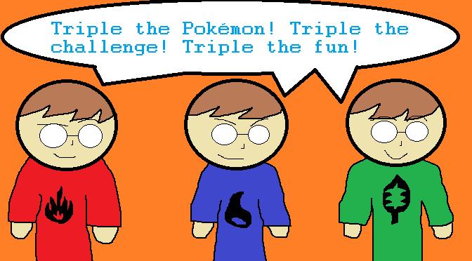 Triplelocke post