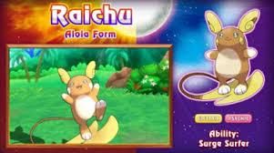 Raichu - Alola
