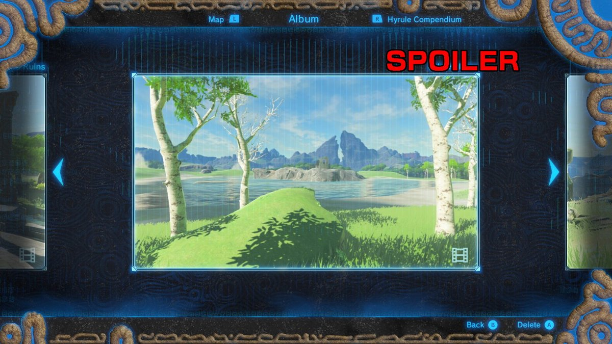 The Legend Of Zelda Breath Of The Wild Captured Memories Quest Guide Adventure Rules