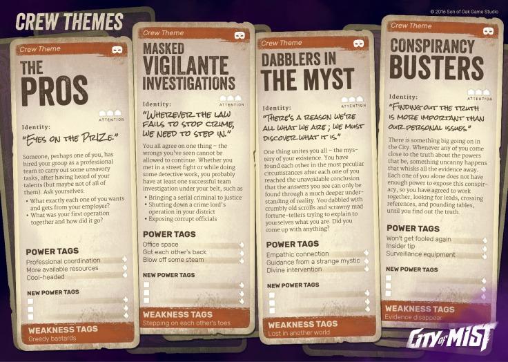 City of Mist RPG - Crew Themes.jpg