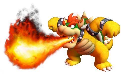 Bowser Fire Breath