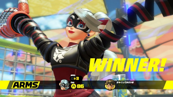 ARMS Ribbon Girl Win