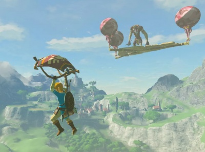 Breath of the Wild Flying Platform