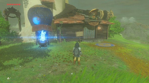 Breath of the Wild Hateno Tech Lab