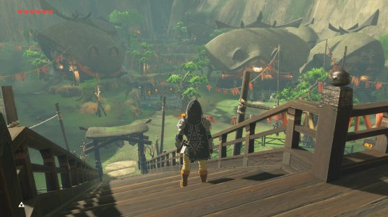 Breath of the Wild Kakariko Village