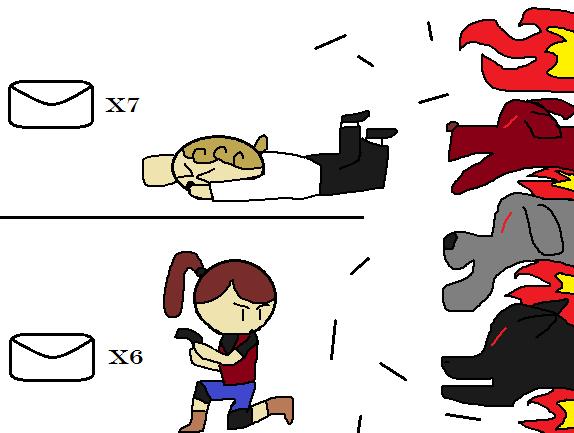 Guybrush vs Claire Arrival of Cerberus