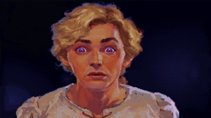 The Secret of Monkey Island, video game, Guybrush Threepwood, pirate, man, surprised
