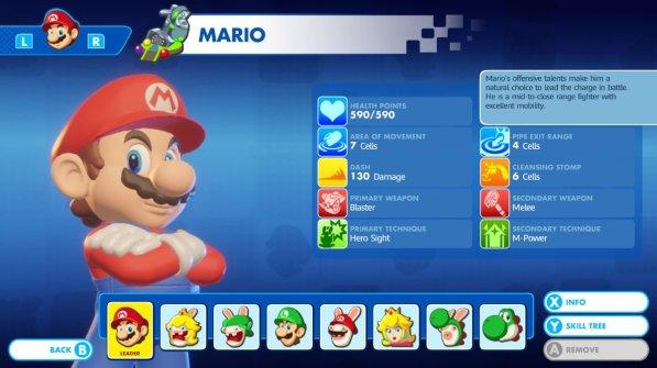 Mario + Rabbids - Mario