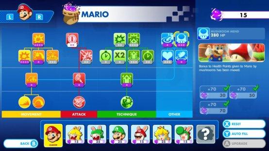 Mario + Rabbids Mushroom Mend