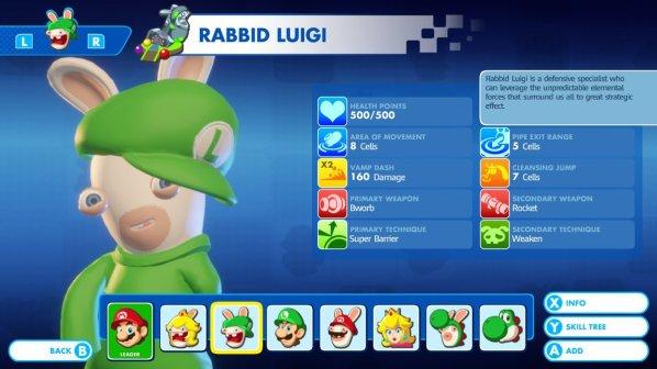 Mario + Rabbids - Rabbid Luigi