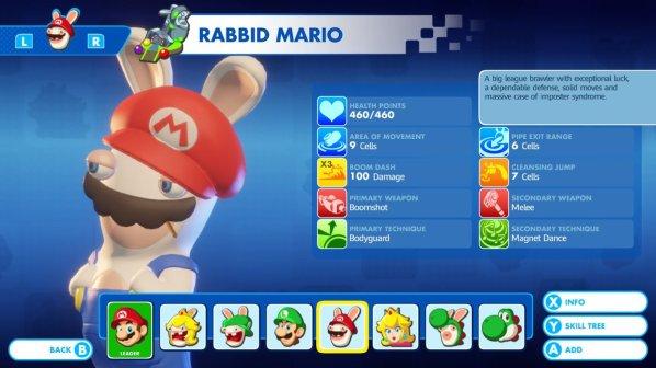 Mario + Rabbids - Rabbid Mario
