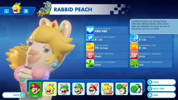 Mario + Rabbids - Rabbid Peach