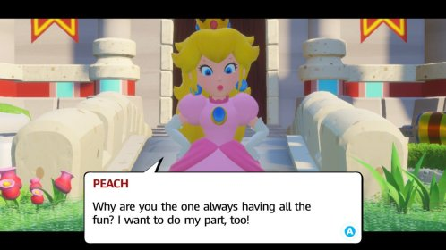 Mario + Rabbids Role Reversal
