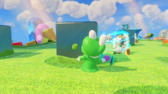 Rabbid Luigi Shot