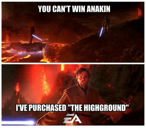 High Ground Meme