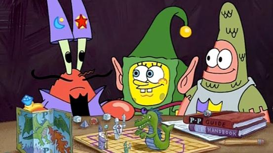 Spongebob D&D