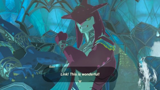 Breath of the Wild Sidon