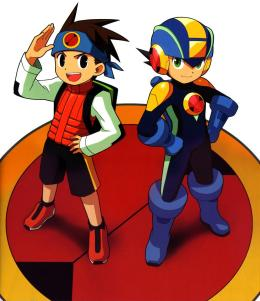 Mega Man and Lan
