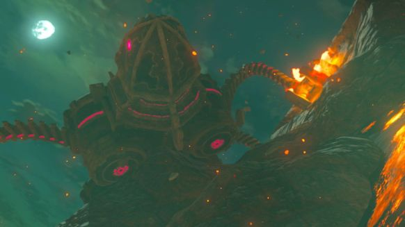 Breath of the Wild Divine Beast