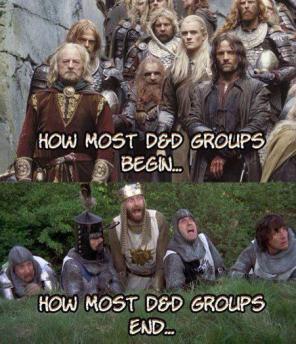 D&D Meme