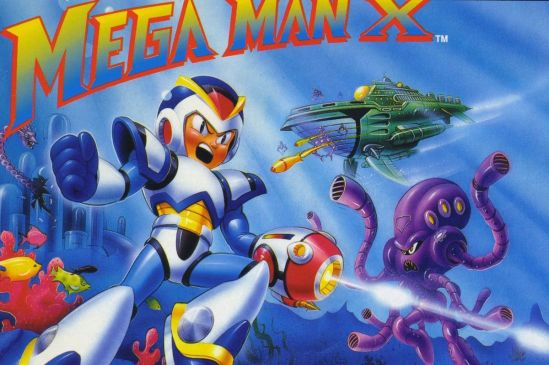 Mega Man X Cover