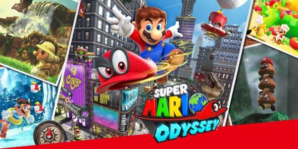 Super Mario Odyssey Cover