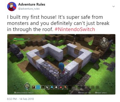 DQ Builders Tweet