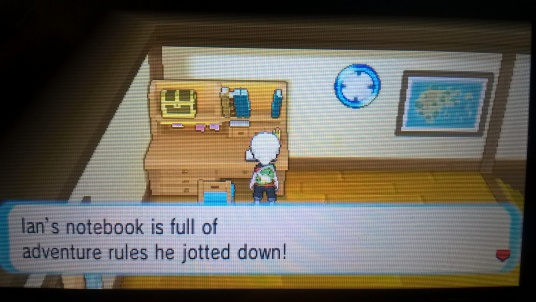 Pokemon Adventure Rules