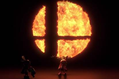 Super Smash Bros Flame Symbol