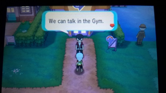 Talk in the Gym