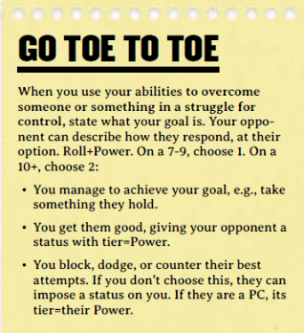 CoM Go Toe to Toe