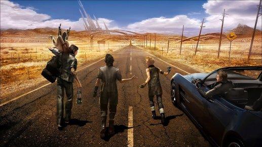 Final Fantasy XV Road