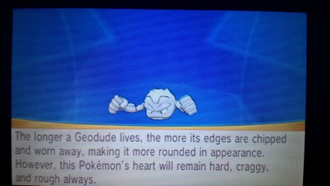 Geodude Pokedex