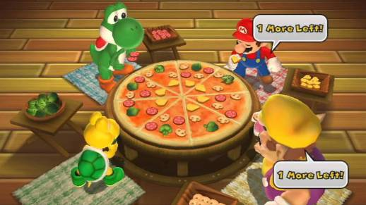 Mario Party Pizza