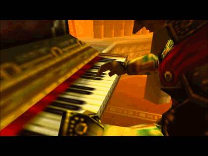 Ganondorf at the Organ