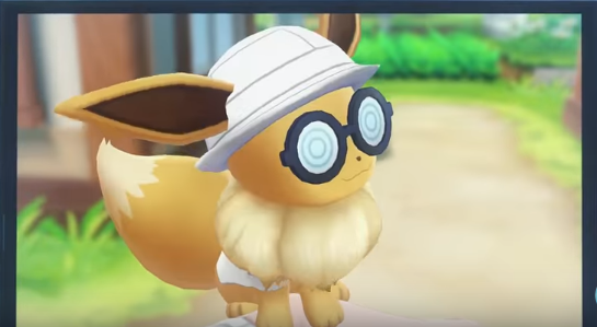 Glasses Eevee