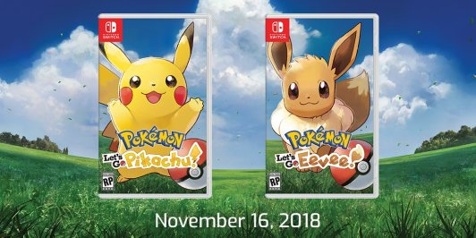 Pokemon Lets Go Release Date