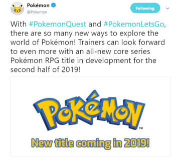 Pokemon Switch 2019
