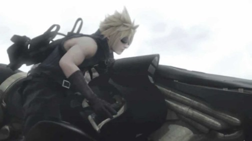 Cloud with Motorcycle
