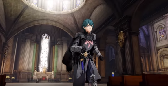 FE Three Houses Byleth Running