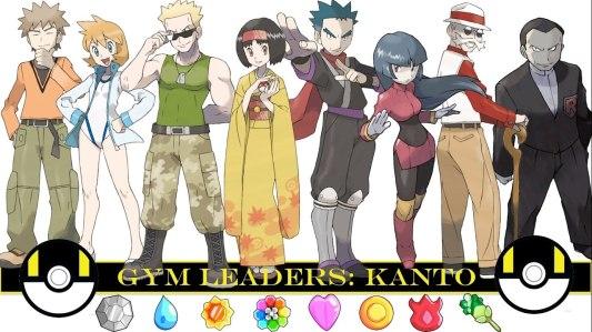 Kanto Gym Leaders