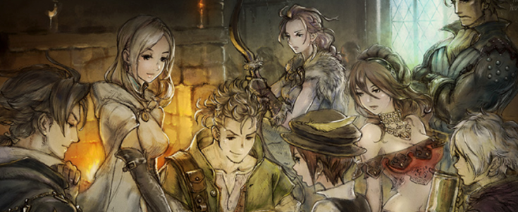 Octopath Traveler Cast