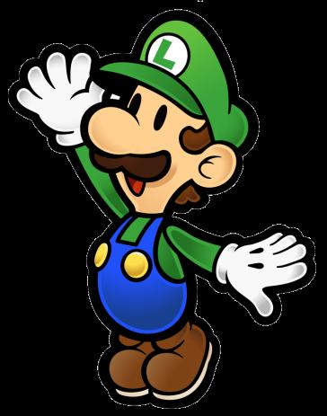 Paper Luigi Sprite