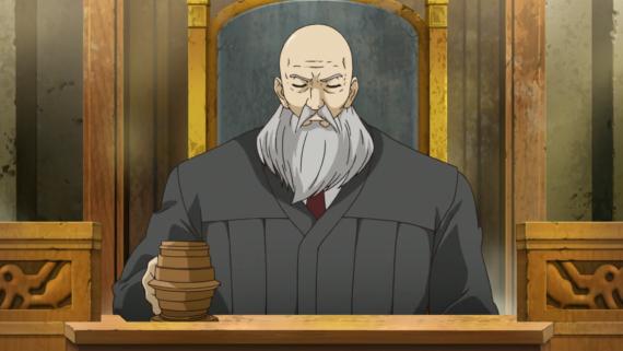 Phoenix Wright Judge