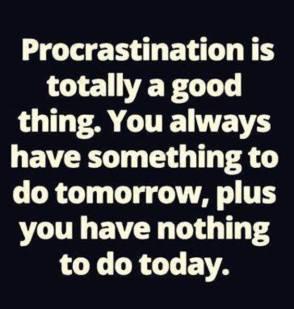 Procrastination Meme 1