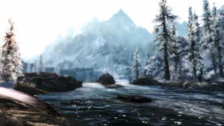 Skyrim River