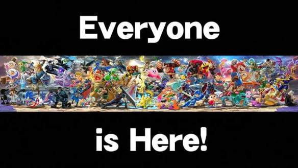 Smash Bros Everyone