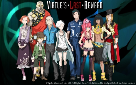 Virtue's Last Reward Cover