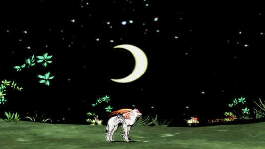 Amaterasu and the Moon