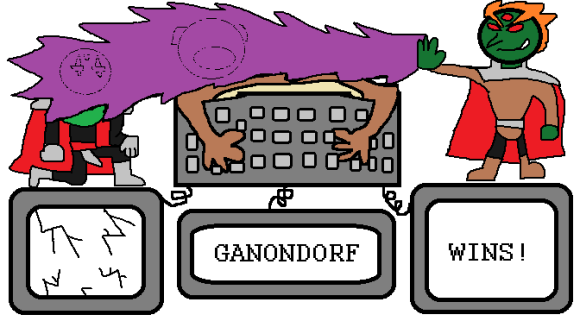 Blogger Blitzception Ganondorf Wins!